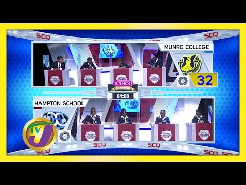 Munro College vs Hampton School   TVJ SCQ 2021