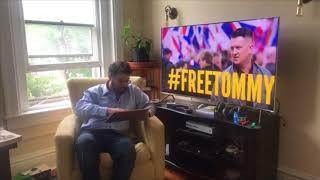 Tommy Robinson Livestream Updates June 21