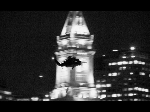 2016-08 | Helicopters Fly Low Over Downtown Boston & Waterfront