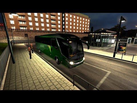 Euro Truck Simulator 2 Bus Terminal Mod Test
