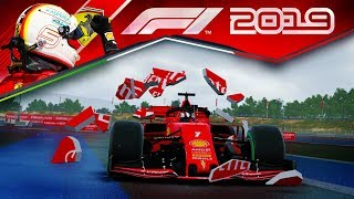 F1 2019 КАРЬЕРА - ЕСЛИ БЫ ФЕТТЕЛЬ ИГРАЛ В ЭТУ КАРЬЕРУ #50