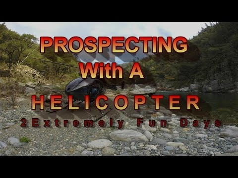 Prospecting with a Helicopter