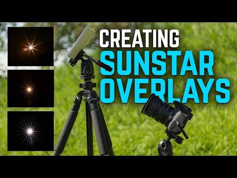 DIY Sunstar Overlays for your Landscape Photos (with Files!)
