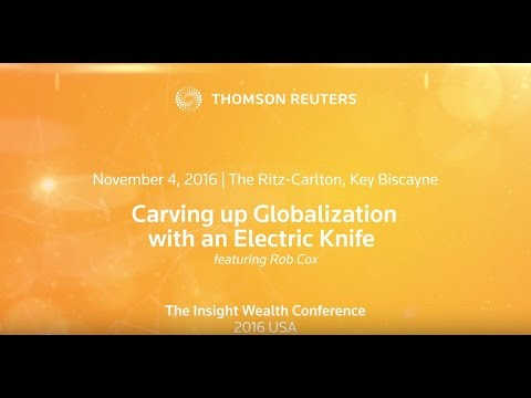 Carving up Globalization with an Electric Knife by Rob Cox