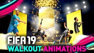 FUT 19 NEW PACK OPENING ANIMATION & BEST WALKOUT DANCES!