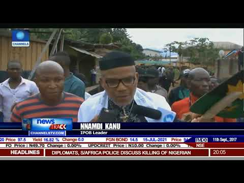 Nnamdi Kanu Accuses Army Of 'Terrorising' His People