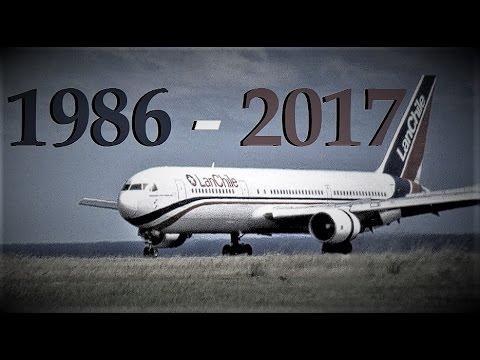 Homenaje al Boeing 767 de LAN Chile