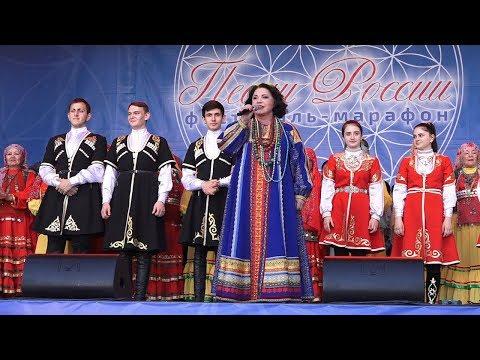 """Специальный репортаж. Фестиваль-марафон """"Песни России"""" в Сибае"""