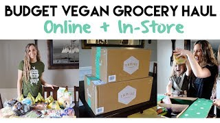Budget Vegan Grocery Haul: Online & In-Store