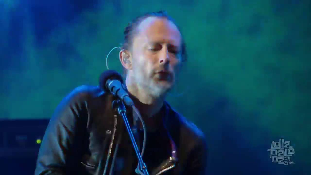 Radiohead Live Lollapalooza Chicago 2016 Full Show HD
