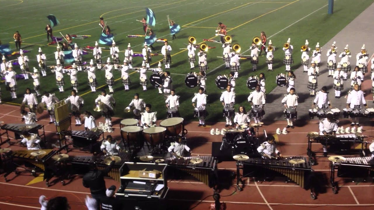 Granada Hills 2012 Marching Band Drumline- Some Closer - YouTube