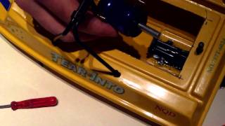 Rc Trail Brushless Nqd Jet Boat Build Part 1