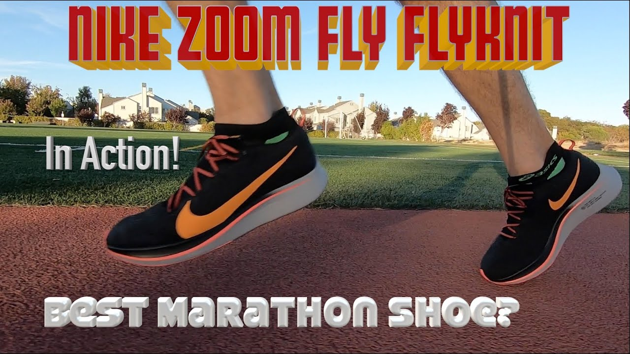 b59115e2a032 Nike Zoom Fly Flyknit  Real Runner s Review! Best marathon shoe ... yet