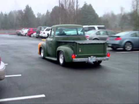 1956 Green Ford F100 Big Window Sold Youtube