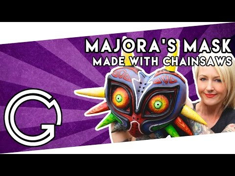 Majora's Mask Made With Chainsaws