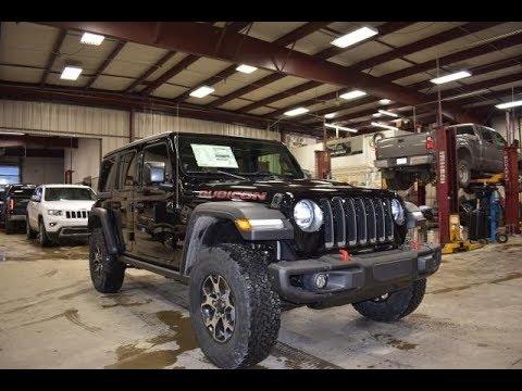 2018 Brillant Black Jl Jeep Wrangler Unlimited Rubicon 4x4 Sj6433