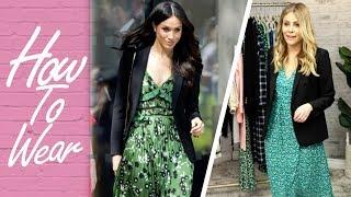 How to Style a Blazer Like Meghan Markle | How to Wear