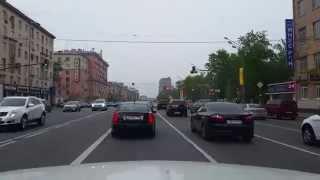 Moscow downtown trip. Поездка по центру.