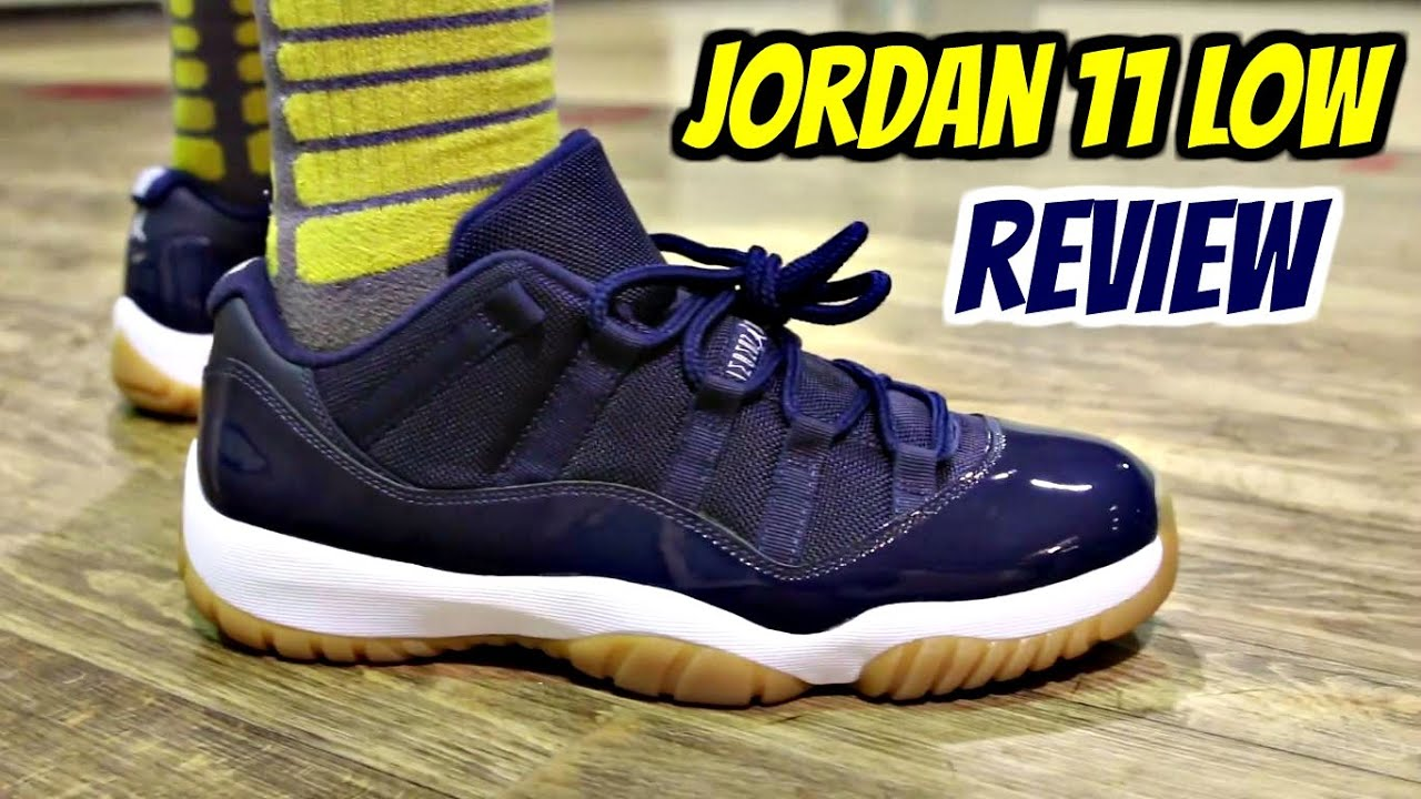 half off 65f75 6c5e7  THROWBACK - Jordan 11 Low Performance Review!