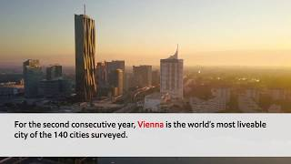 The Global Liveability Index 2019