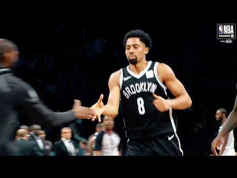 Spencer Dinwiddie   Kia Most Improved Nominee   2018 NBA Awards
