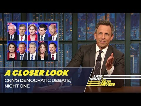 CNN's Democratic Debate, Night One: A Closer Look