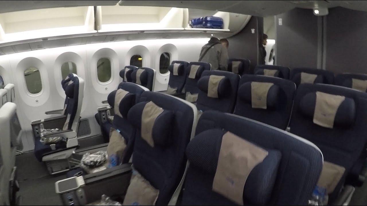 British Airways B787 Premium Economy Kuala Lumpur