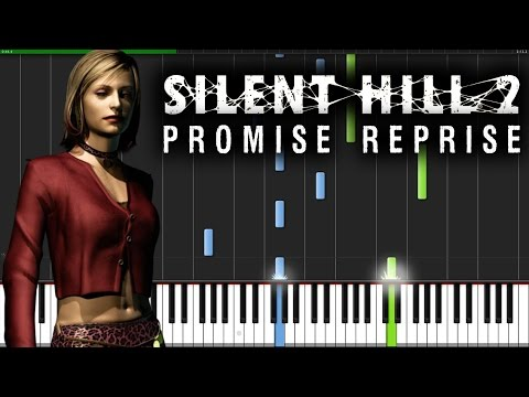 Silent Hill 2 - Promise Reprise | Piano Tutorial + Sheet Music