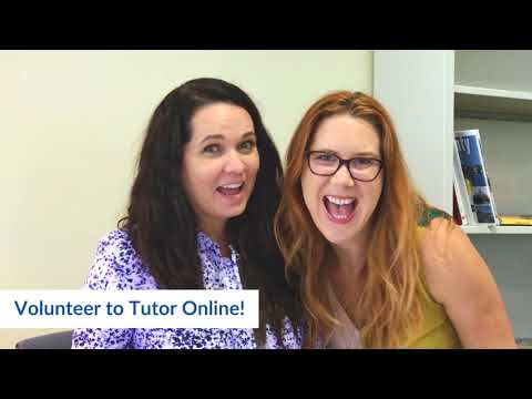 Become an Online Tutor - Help an Orange County student to read!