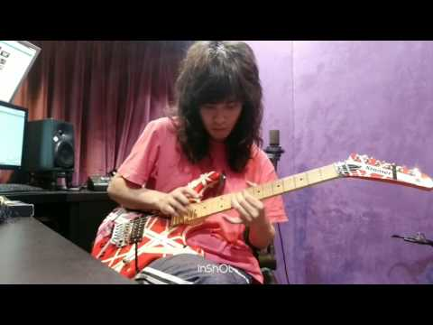 Eddie Van Halen- Beat it Guitar Solo (LeeQ  Cover)