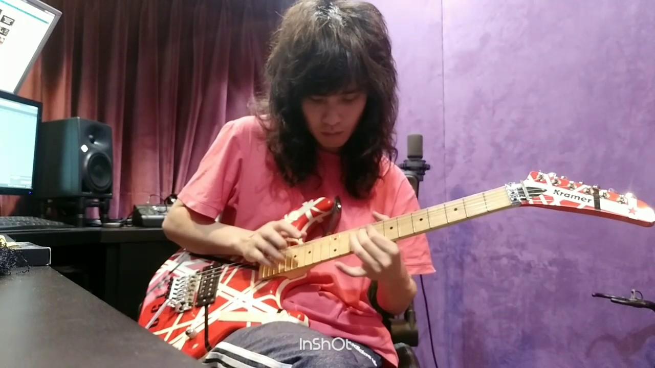 Eddie Van Halen Beat It Guitar Solo Leeq Cover Youtube
