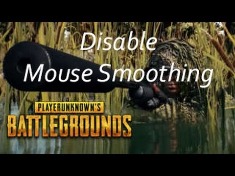 How to Disable Mouse Smoothing in PlayerUnknown's Battlegrounds