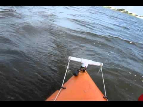 Homemade Kayak Rudder   Hairrs us