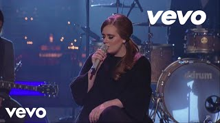 adele   hometown glory live on letterman