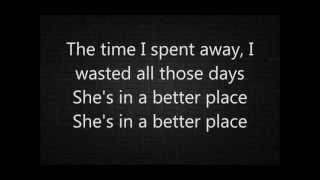 A better place - Silverstein (LYRICS)