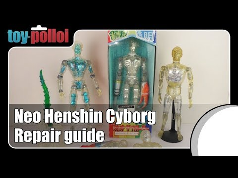 Fix it guide - Neo Henshin Cyborg repair - Toy Polloi