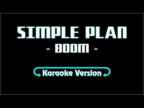 Karaoke Lyric Version Simple Plan - BOOM (Lyric + Music)