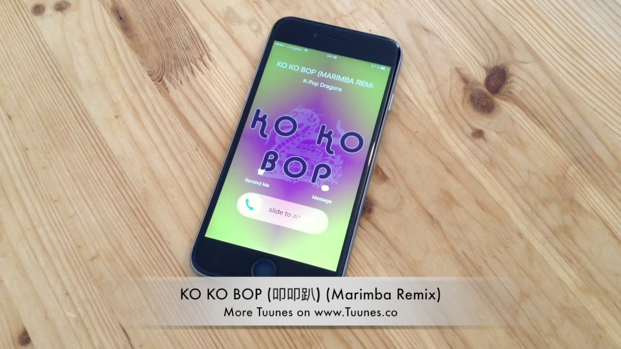 Ko Ko Bop Ringtone Exotribute Marimba Remix Ringtone Download