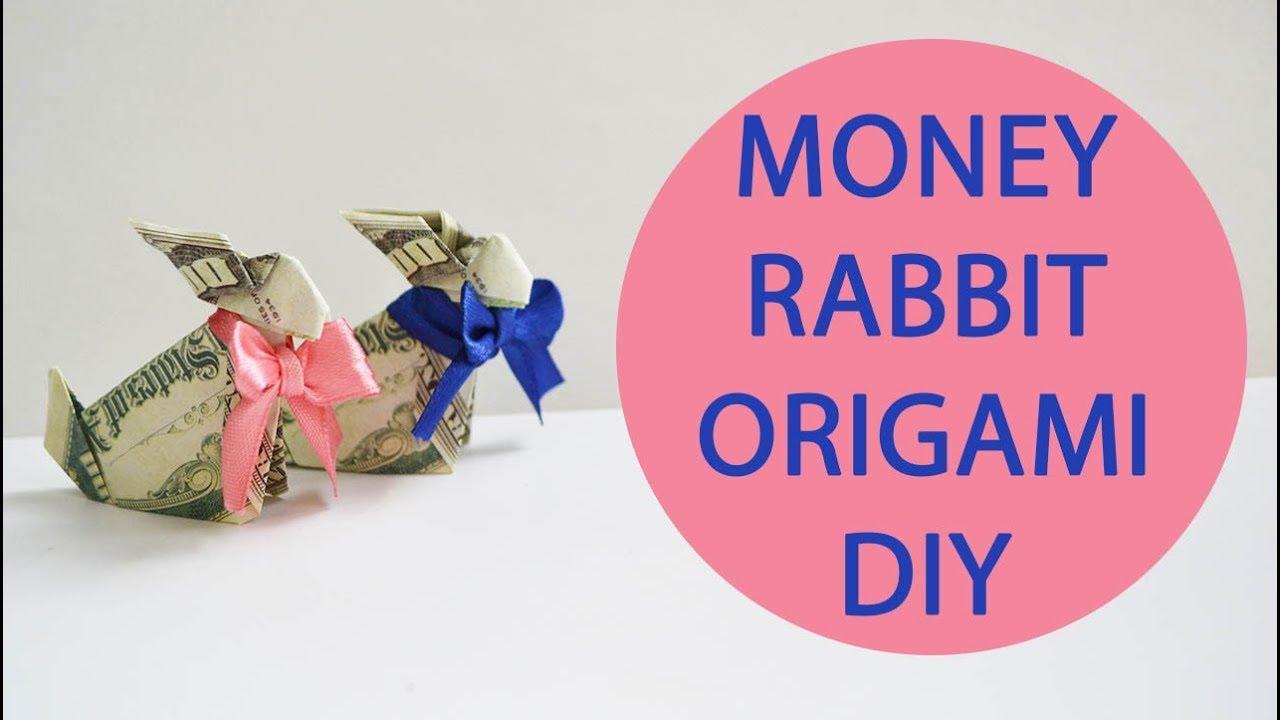 Dollar Origami Rabbit | Dollar origami, Dollar bill origami, Folding money | 720x1280