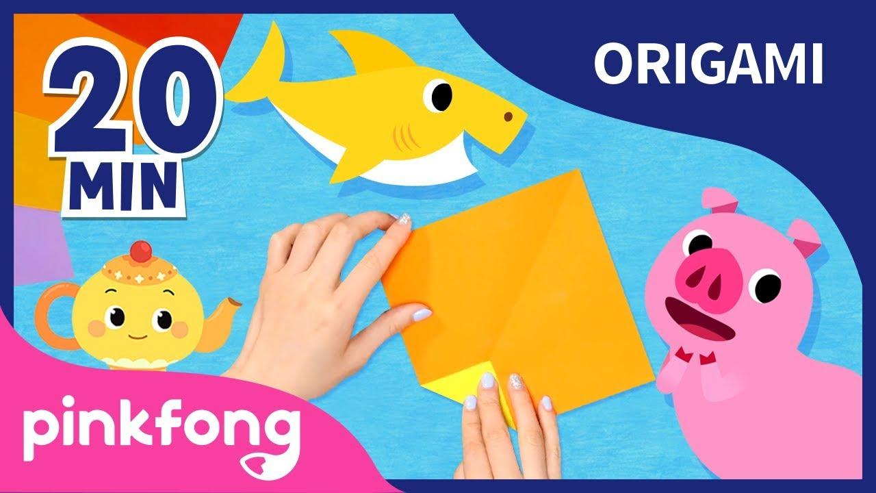Las Mejores Canciones De Origami Tiburon Bebe Recopilacion