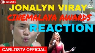 Jonalyn Viray's performance at the Cinemalaya Awards feat. Ballet Philippines' dancers
