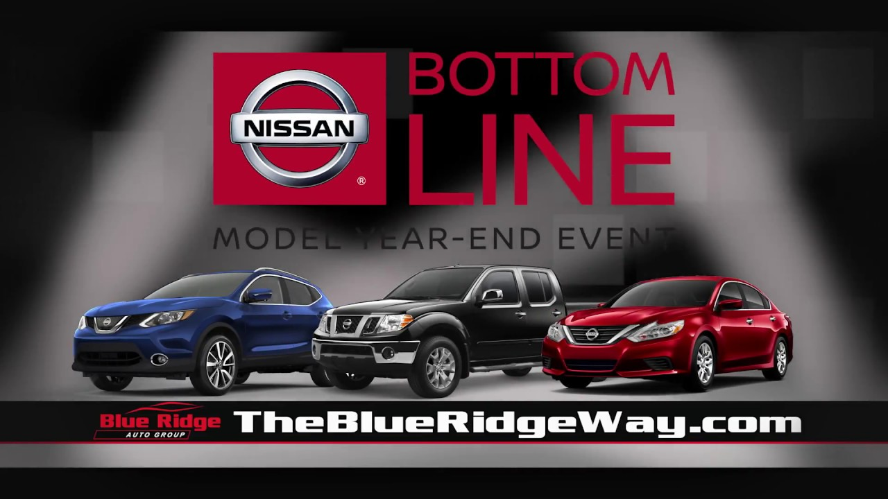 Blue Ridge Nissan >> Blue Ridge Nissan Martinsville Bottom Line Sales Event