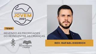 Entre as crianças, com Rev. Rafael Diedrich | CMJ 2021 - Workshops