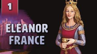 Civ 6 Gathering Storm: Eleanor of Aquitaine [#1]