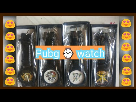 PUBG Wrist Watches 💯 Cheap Rate (Combo Of 4)😍 🔥 || Snapdeal