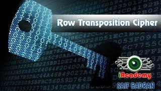 Row Transposition Cipher Encryption / Decryption - شرح بالعربي - Subtitled