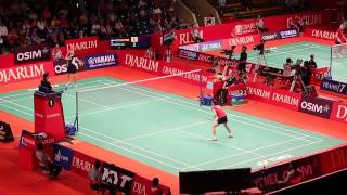 Saina Nehwal at Djarum Indonesia Open Super Series Premier 2013