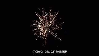 Fajerwerki TXB042 MASTER 25s. 0,8