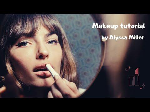 Makeup tutorial: Alyssa Miller