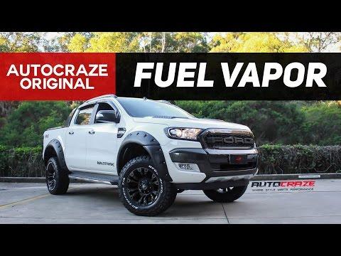THE BARBARIAN // Fuel Vapor Rims  // Ford Ranger Alloy Wheels   AutoCraze 2017